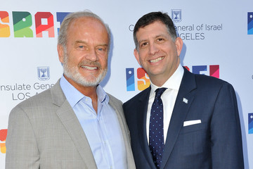 Kelsey Grammer Sam Grundwerg The Consul General Of Israel, Los Angeles, Sam Grundwerg Hosts Private Celebration Of The 70th Anniversary Of Israel