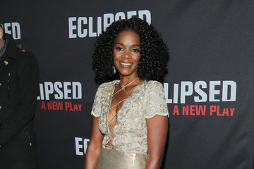 "Kelsey Scott ""Eclipsed"" Broadway Opening Night - Arrivals & Curtain Call"