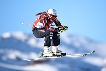 Kelsey Serwa FIS Freestyle Ski World Cup - Men's and Women's Ski Cross