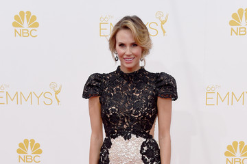 Keltie Knight Arrivals at the 66th Annual Primetime Emmy Awards — Part 2