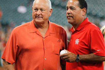 Kelvin Sampson Los Angeles Angels of Anaheim v Houston Astros
