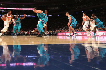 Kemba Walker Charlotte Hornets v New York Knicks