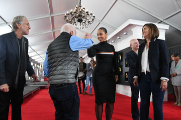 Ken Ehrlich 61st Annual GRAMMY Awards - Rehearsals Day 1