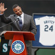 Ken Griffey Jr. Los Angeles Angels of Anaheim v Seattle Mariners