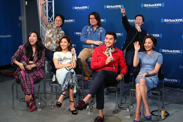 Ken Jeong Awkwafina SiriusXM's Entertainment Weekly Radio Spotlight With The Cast Of 'Crazy Rich Asians'