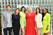 "Panelists Matthew Traube, Megan MacDonald,  Kendall Jenner, Kelly Bales, Dr. Rachel Mazarian and Lindsay Peoples Wagner join Proactiv and Teen Vogue at ""Paint Positivity: Because Words Matter"" event at Wythe Hotel on June 20, 2019 in Brooklyn, New York."