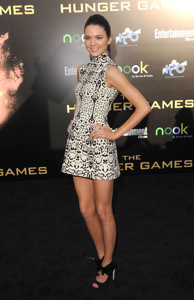 """Kendall Jenner - Premiere Of Lionsgate's """"The Hunger Games"""" - Arrivals"""