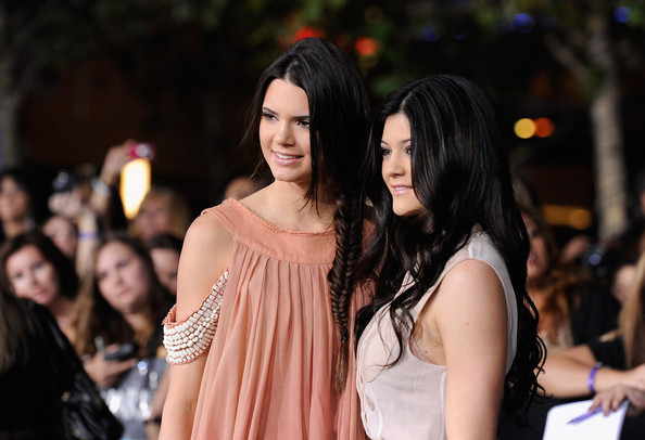 "Kendall Jenner TV personalities Kendall Jenner and Kylie Jenner arrive at Summit Entertainment's ""The Twilight Saga: Breaking Dawn - Part 1"" premiere at Nokia Theatre L.A. Live on November 14, 2011 in Los Angeles, California."