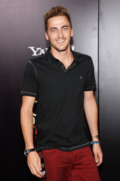 "Kendall Schmidt Actor Kendall Schmidt attends the New York premiere of ""One Direction: This Is Us"" at the Ziegfeld Theater on August 26, 2013 in New York City."