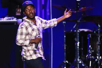 Kendrick Lamar American Eagle Outfitters Celebrates The Budweiser Made In America Music Festival - Los Angeles, CA - Day 1