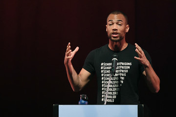 Kendrick Sampson Sen. Bernie Sanders Attends Rally For Nevada Democrats In Las Vegas