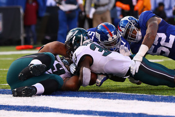 Kenjon Barner Philadelphia Eagles v New York Giants