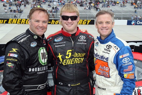 Kenny Wallace Steve Wallace Mike Wallace Kenny Wallace And Steve Wallace Photos Zimbio She mentions talking to her father about it, although kenny is not actually pictured. kenny wallace steve wallace mike