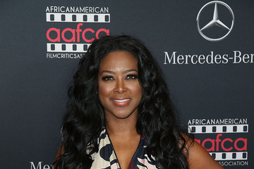 Kenya Moore African American Film Critics Association Oscars Viewing Party