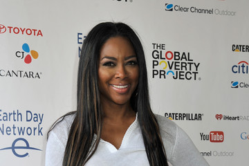 Kenya Moore Global Citizen 2015 Earth Day On National Mall To End Extreme Poverty And Solve Climate Change - Backstage & VIP Lounge