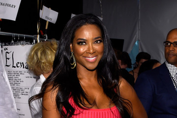 Kenya Moore Betsey Johnson - Backstage - Mercedes-Benz Fashion Week Spring 2015