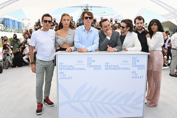 """Kenza Fortas François Civil """"Bac Nord"""" Photocall - The 74th Annual Cannes Film Festival"""