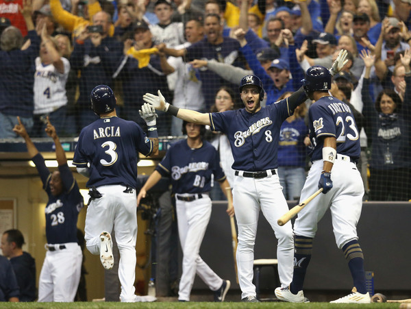 Divisional Round - Colorado Rockies vs. Milwaukee Brewers - Game Two