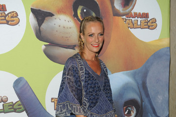 Keren Craig Uma Thurman Hosts the Launch of Dino Tales and Safari Tales at the American Museum of Natural History With Kuato Studios