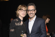 Katherine Borowitz and John Turturro attend the Kering Official Cannes Dinner at Place de la Castre on May 17, 2015 in Cannes, France.