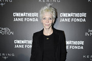 Tonie Marshall attends Kering Women In Motion Master Class With Jane Fonda at la cinematheque on October 22, 2018 in Paris, France.