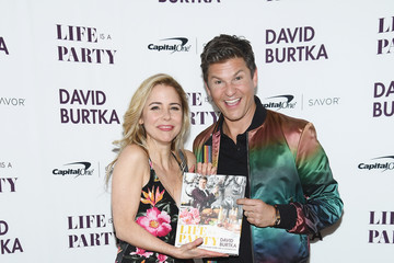 Kerry Butler David Burtka Celebrates The Launch Of The Life Is A Party Cookbook In New York City With The Capital One Savor® Credit Card