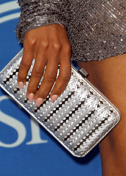 Kerry Washington A detail of the purse of Actress Kerry Washington as she poses in the press room at The 2011 ESPY Awards at Nokia Theatre L.A. Live on July 13, 2011 in Los Angeles, California.