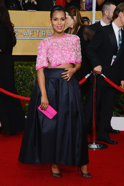 Kerry Washington - 20th Annual Screen Actors Guild Awards - Arrivals