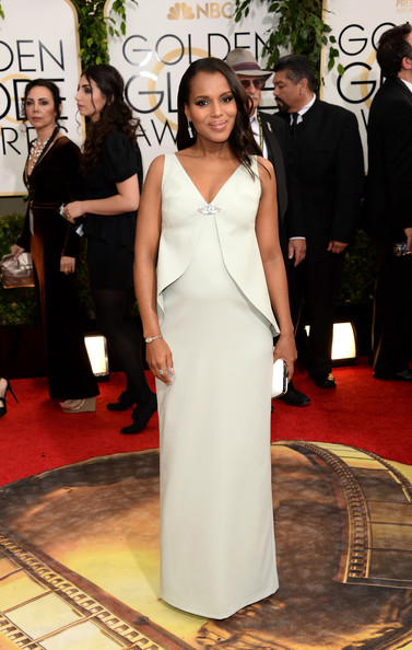 Kerry Washington - 71st Annual Golden Globe Awards - Arrivals
