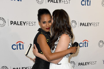 """Kerry Washington Katie Lowes The Paley Center For Media's 32nd Annual PALEYFEST LA - """"Scandal"""" - Arrivals"""