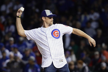 Kerry Wood League Championship Series - Los Angeles Dodgers v Chicago Cubs - Game Three