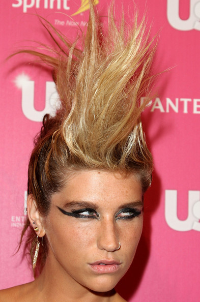 Kesha Singer Ke$ha arrives at Us Weekly's Hot Hollywood on November 18, 2010