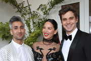 (L-R) Tan France, Olivia Munn and Antoni Porowski attend the 30th Annual GLAAD Media Awards Los Angeles, in partnership with longstanding LGBTQ ally, Ketel One Family-Made Vodka at The Beverly Hilton Hotel on March 28, 2019 in Beverly Hills, California.