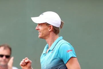 Kevin Anderson 2018 French Open - Day Seven