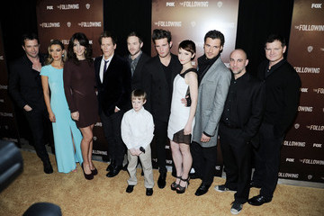 """Kevin Bacon Adan Canto """"The Following"""" World Premiere"""