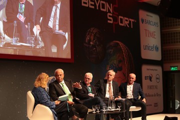 Kevin Cahill Margaret Heffernan Beyond Sport Summit and Awards: Beyond Sport Main Stage Day