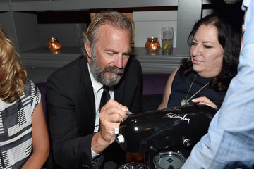 "Kevin Costner Nespresso Presents the ""Black and White"" After Party at the Toronto International Film Festival"