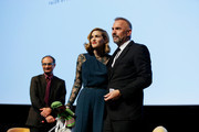Kevin Costner and Lily Costner Photos Photo