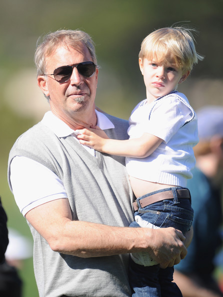Kevin Costner Actor Kevin Costner with family members during the 3M Celebrity Challenge at the AT&T Pebble Beach National Pro-Am at Pebble Beach Golf Links on February 9, 2011  in Pebble Beach, California.