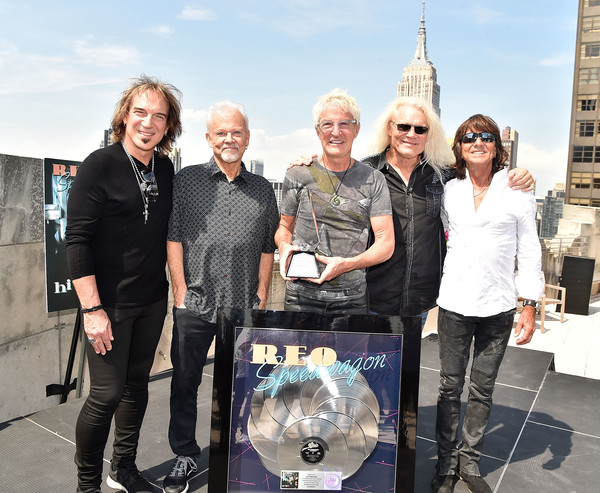 Kevin Cronin Photos Photos - REO Speedwagon Receives RIAA Diamond