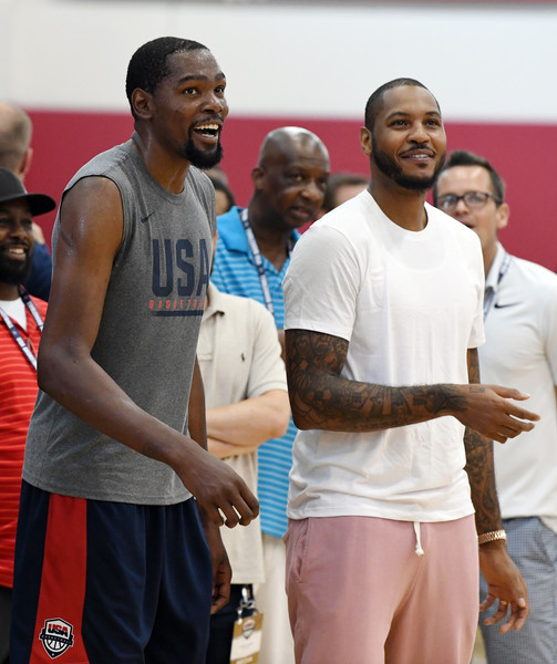 a7f12ecde29e 2018 USA Basketball Men s National Team Minicamp. 2018 USA Basketball Men s  National Team Minicamp. In This Photo  Carmelo Anthony