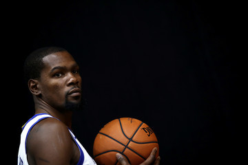 Kevin Durant Golden State Warriors Media Day