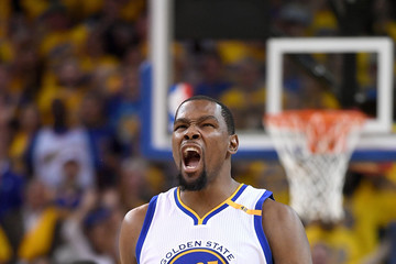 Kevin Durant Portland Trail Blazers v Golden State Warriors - Game One