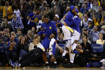 Kevin Durant Javale Mcgee Memphis Grizzlies v Golden State Warriors