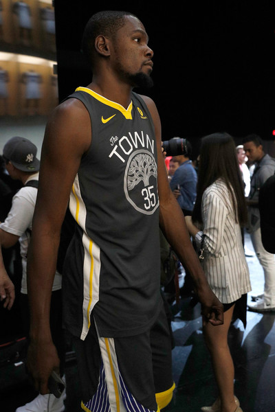 Nike Unveils New NBA Partnership. Nike Unveils New NBA Partnership. In This  Photo  Kevin Durant. Kevin Durant  35 of the Golden State Warriors debuts  ... 4b09810ac