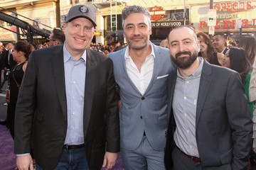Kevin Feige Brad Winderbaum The World Premiere of Marvel Studios' 'Guardians of the Galaxy Vol. 2'