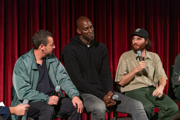 The Academy Of Motion Picture Arts And Sciences Screening Of 'UNCUT GEMS' [the academy of motion picture arts sciences hosts an official academy screening of uncut gems,event,performance,talent show,conversation,performing arts,heater,josh safdie,adam sandler,kevin garnett,moma - celeste bartos theater,new york city,academy of motion picture arts sciences hosts an official academy screening of uncut gems]