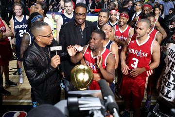 Kevin Hart Nick Cannon NBA All-Star Celebrity Game 2014