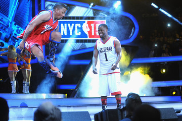 Kevin Hart Nick Cannon NBA All-Star Celebrity Game NBA All -Star Weekend 2015