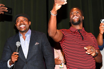 Kevin Hart Will Packer 'Night School' Actor Kevin Hart And Producer Will Packer With Office Depot Surprise Students At Langston Hughes High School In Fairburn, GA